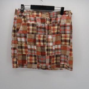 LOFT Ann Taylor Striped Pencil Mini Skirt Size 10